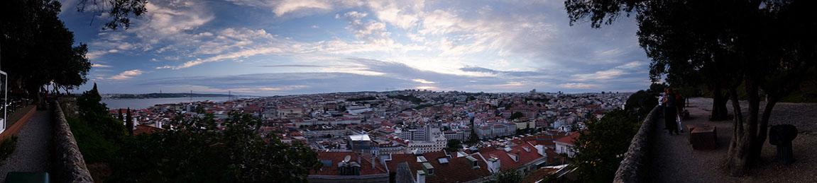 Castelo de S. Jorge'dan Lizbon