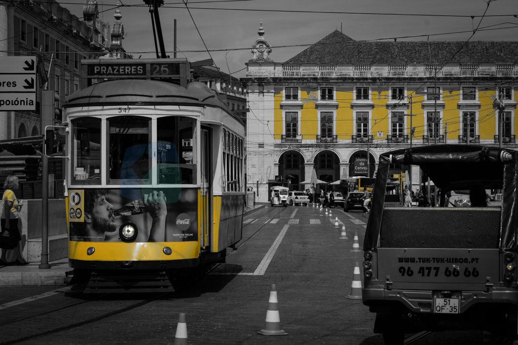 Lizbon ve Tramvayları