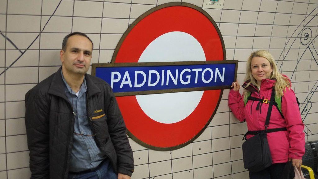 Paddington Londra'nın önemli metro duraklarından.