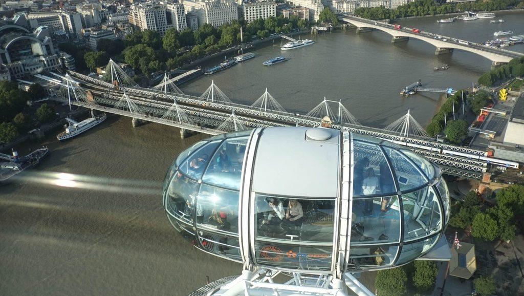 London Eye'dan Londra
