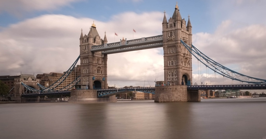 Tower Bridge Londra'nın en bilinen yapısı