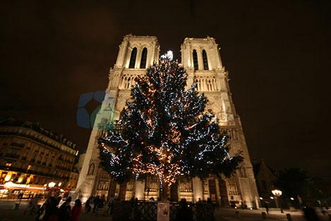 Notre Dame Eifflel ile birlikte Paris'in en önemli yapıları.
