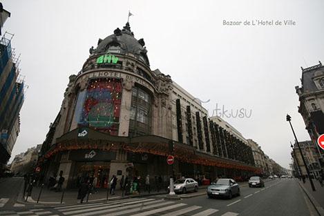 Printemps Paris'in görülmesi gereken bir alışveriş merkezi