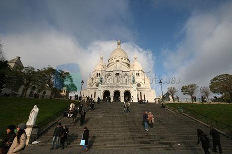 Sacre coeur Paris'in önemli dini yapılarından.