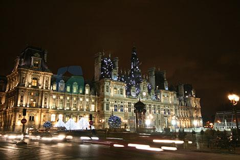Hotel de Ville Paris belediye Sarayı