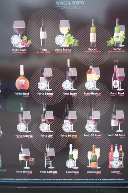 Porto Şarap çeşitleri