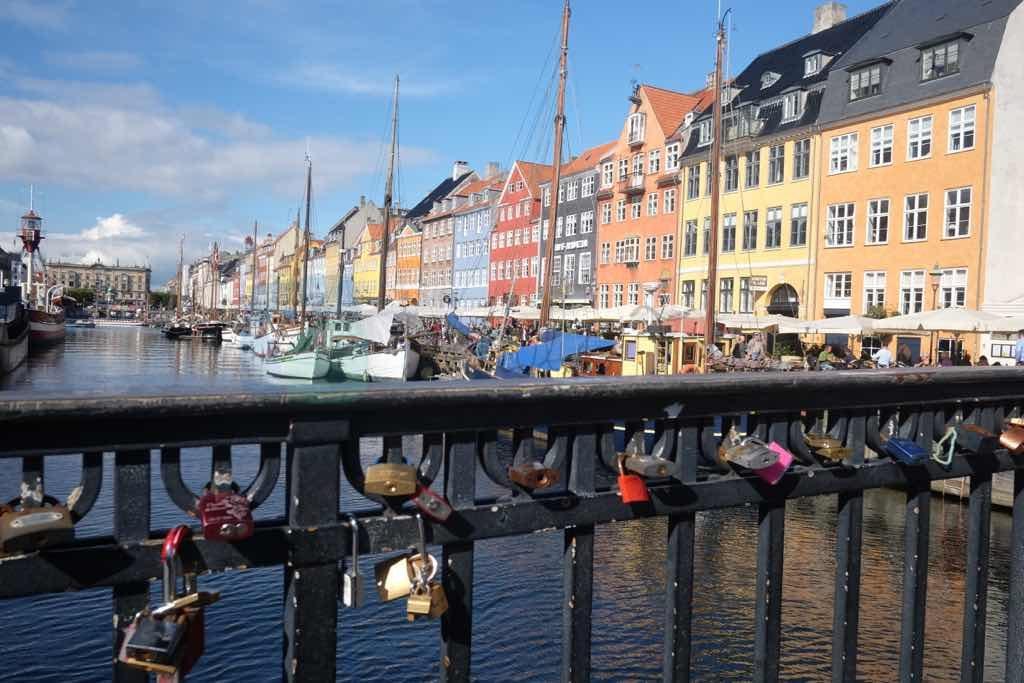 Nyhavn Kopenhag eski limanı
