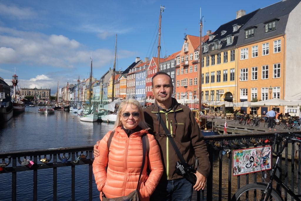 Nyhavn Kopenhag eski liman bölgesi