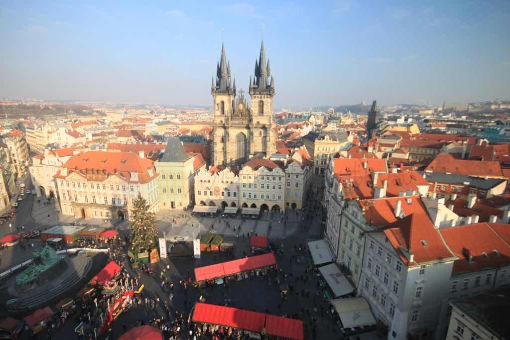 Stara Mesto Prag eski şehir merkezidir.