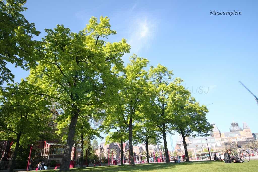 Vondelpark Amsterdam'ın en büyük parkı.
