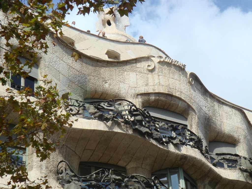 La Pedrera Barselona gezilmesi gereken yerler listesinde