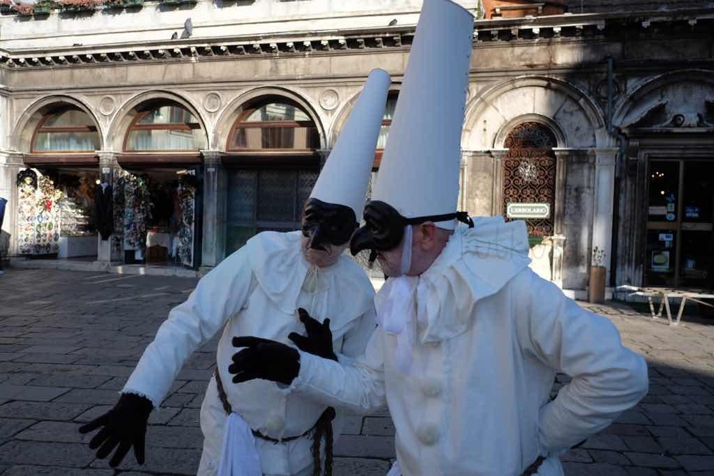 Venedik Karnavalından kareler