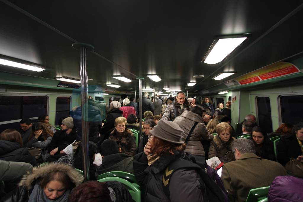 Altino'ya giden tren