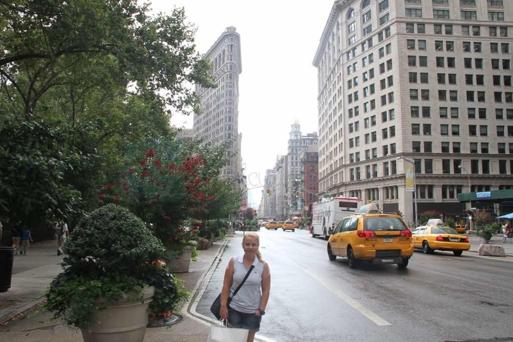 Flatiron Building New York binası oldukça ilginç