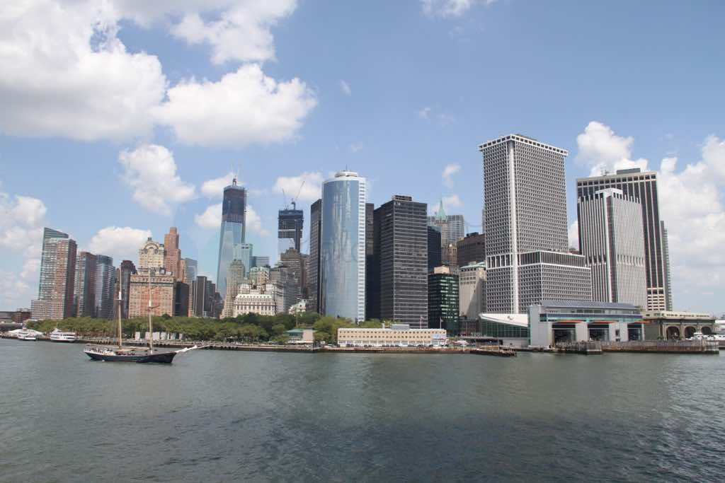 Lower Manhattan New York İş merkezi