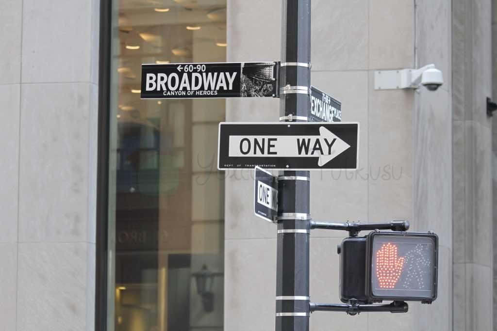 Wall Street New York Finans Merkezi