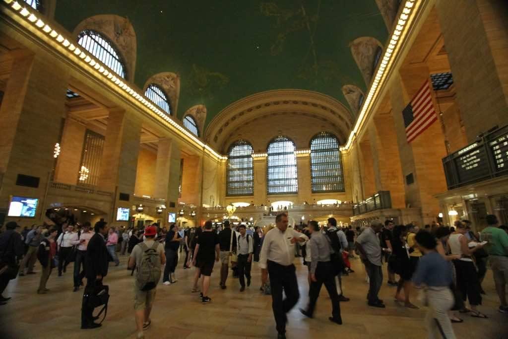 Grand Central Terminal New York un ikonik yapılarından