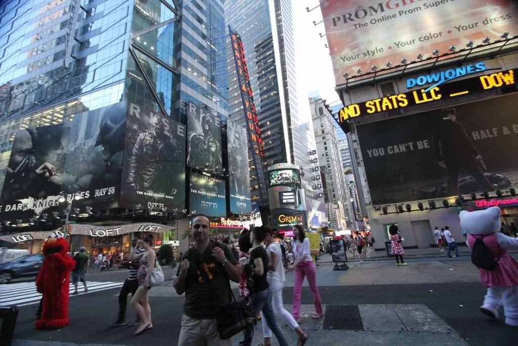 Times Square New York en önemli meydanı
