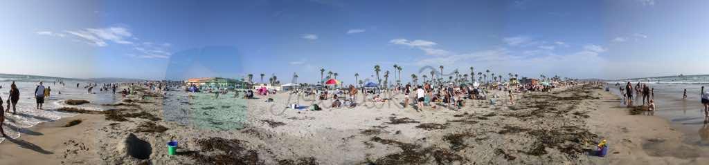 Mission Beach Panoraması
