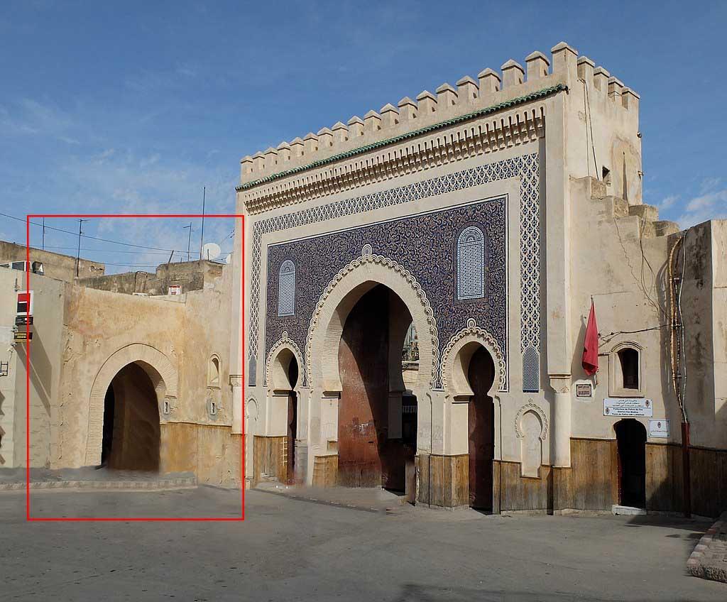 Bab Boujloud'un Orta Çağ Kapısı