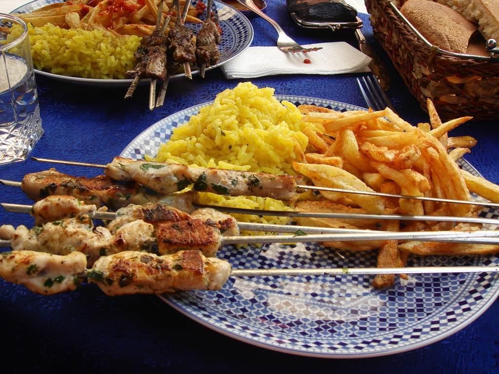 Moroccan Brochette