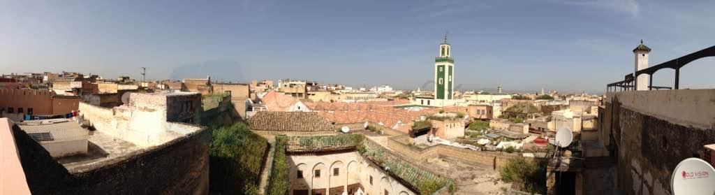 Meknes Panoraması ve Büyük Cami