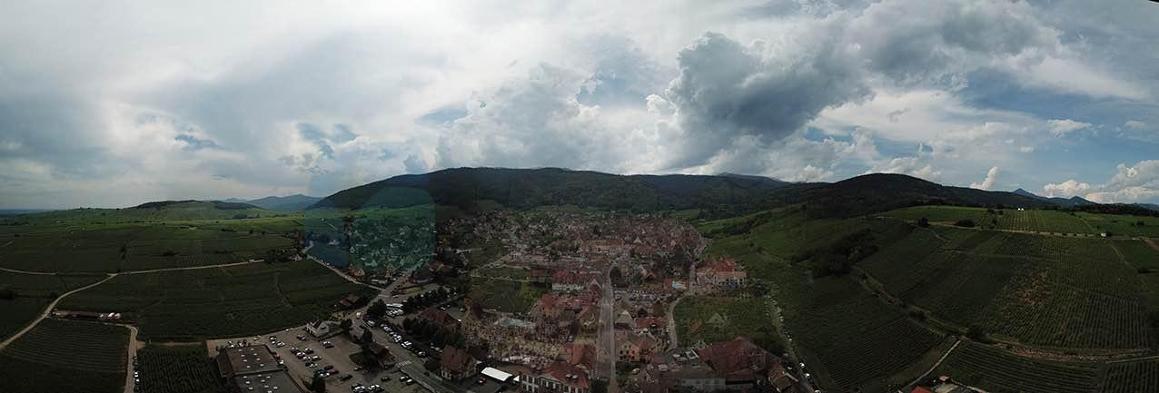 Riquewihr Panoraması