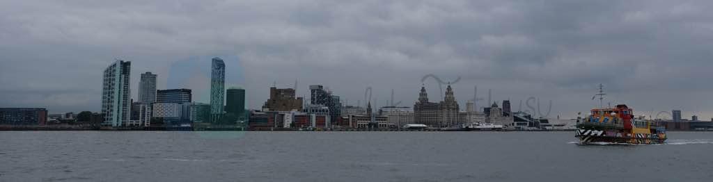 Liverpool Panoraması ve feribotu