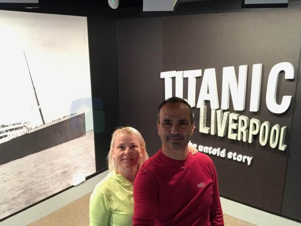 Merseyside Marite Museum'da Titanic Katı