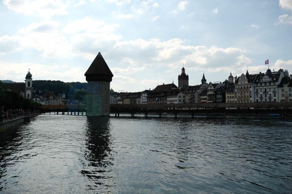 Kapellbrücke ve Wasserturm