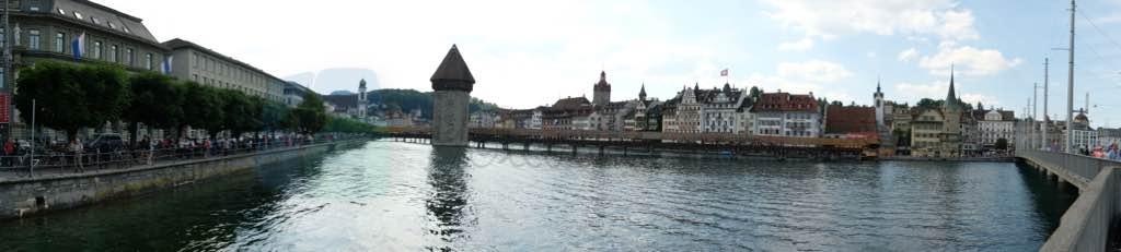 Kapellbrücke ve Luzern