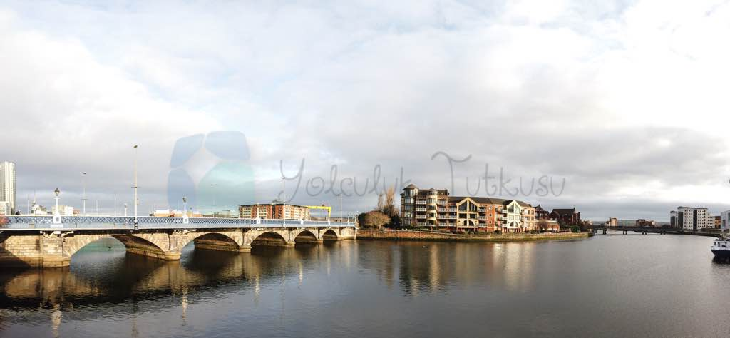 Queen's Bridge'den Titanic Quarter