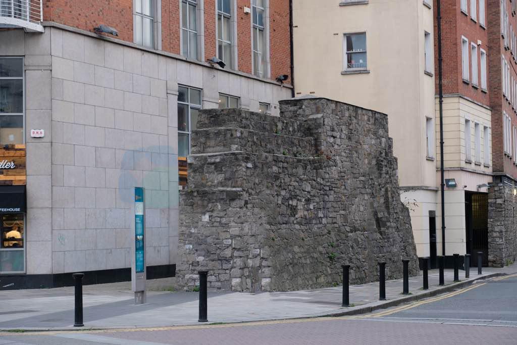 Dublin'in Eski Şehir Duvarı