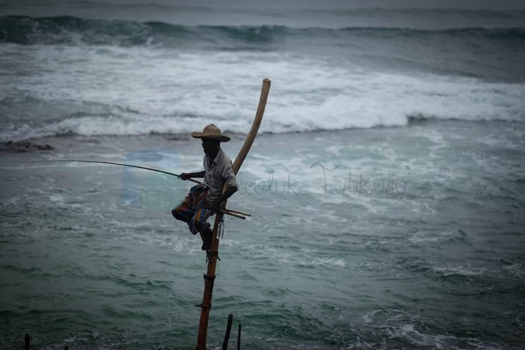 Stilt Sri Lanka'n Fishermen