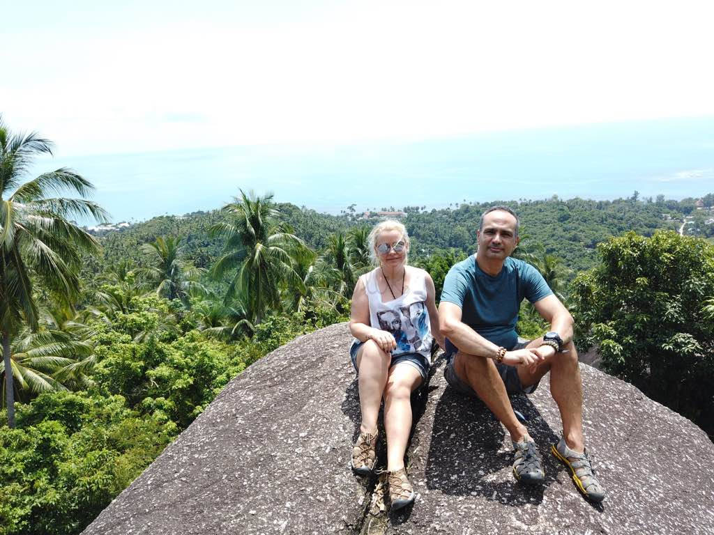 View Point for Motorcycle Koh Samui