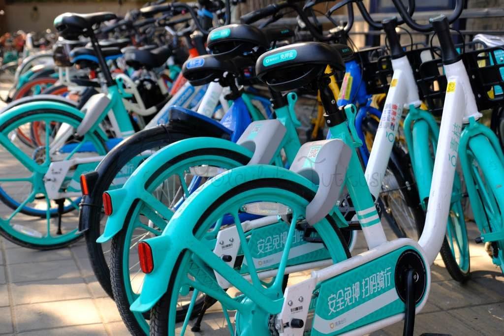 QR Kodlu Bisikletler