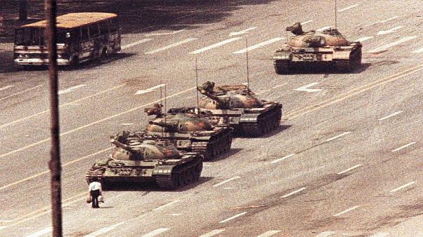 Tiananmen Meydanı ve Tank Man
