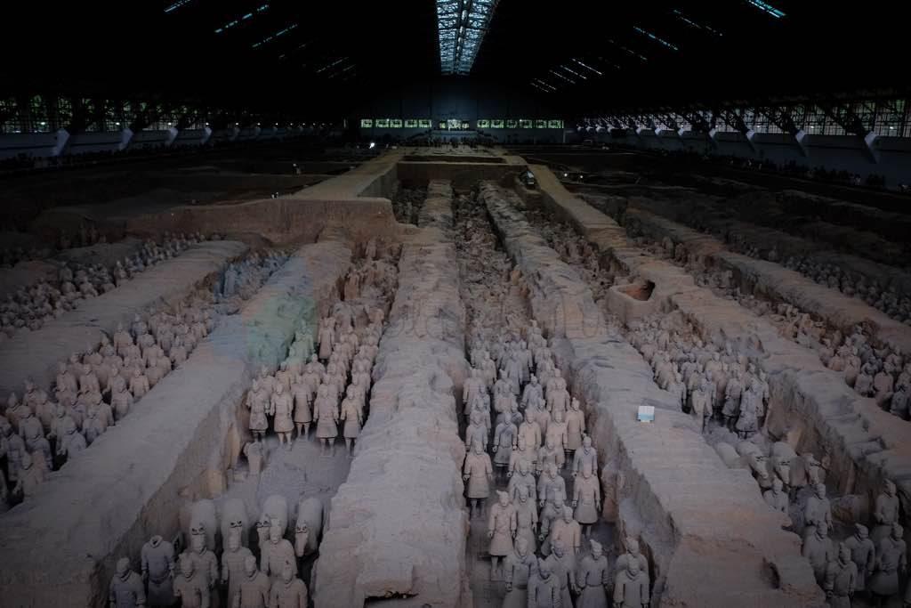 Xian Terracotta Savaşçılar galeriler