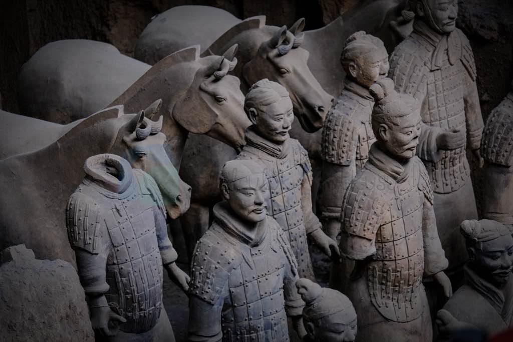Xian Terracotta Askerler