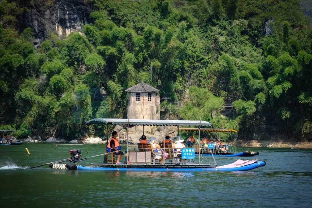 Yangshuo sal gezisi