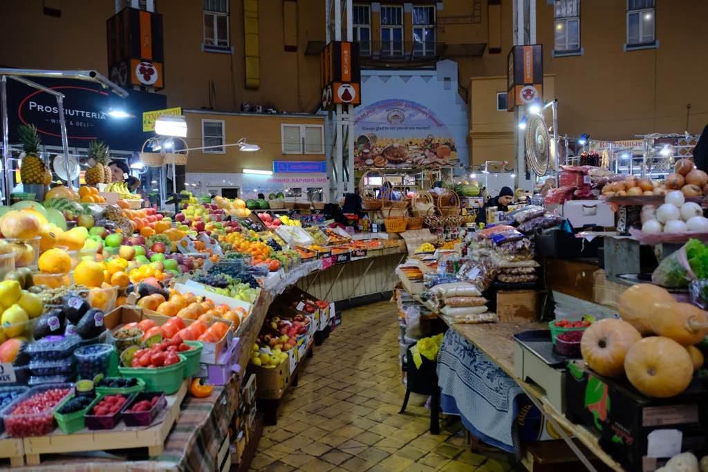 Bessarabsky Market Kiev gezi rehberi