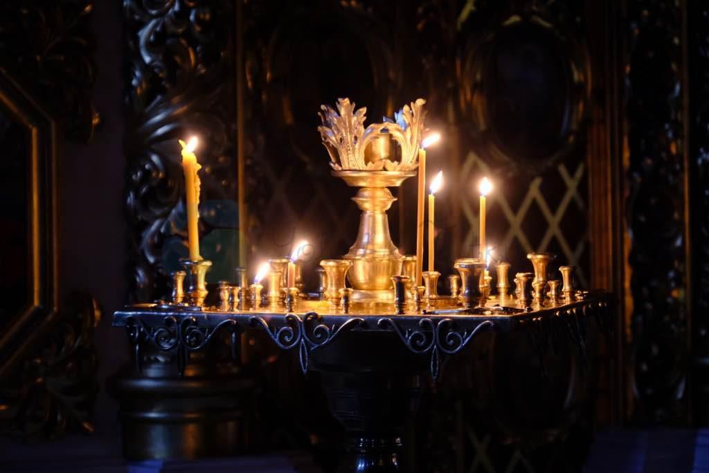 St.Michael Katedrali Kiev için en önemli yapılardan