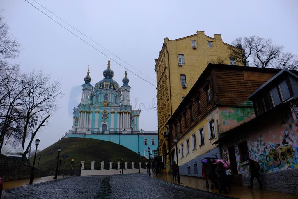 Aziz Andreas Katedrali Kiev