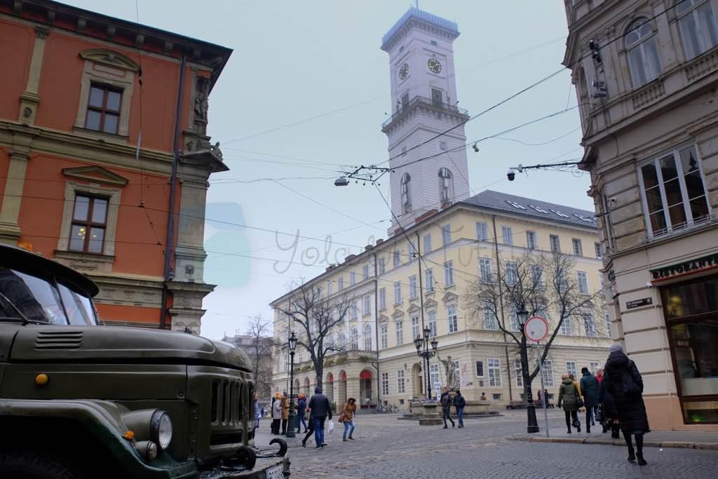 lviv pazar meydanı