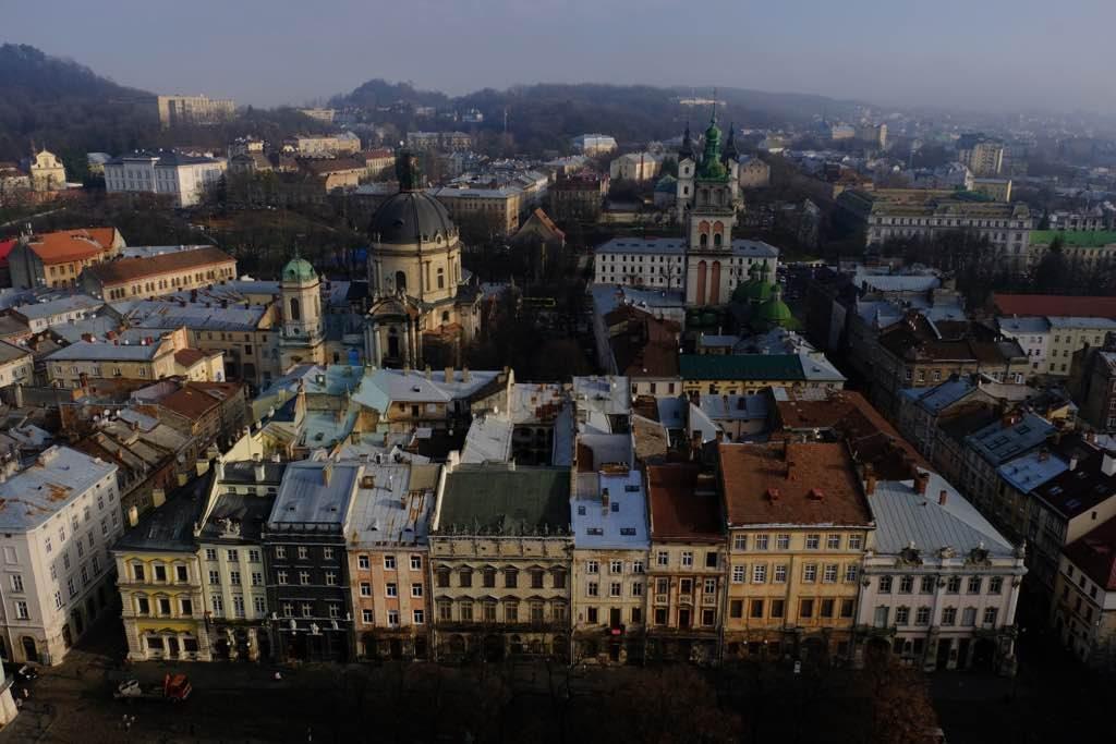 lviv ratusha kulesi