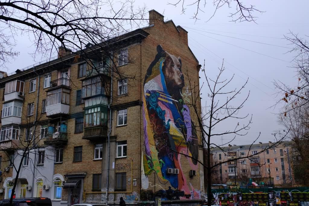 Kiev Muralları ile ünlü bir şehir