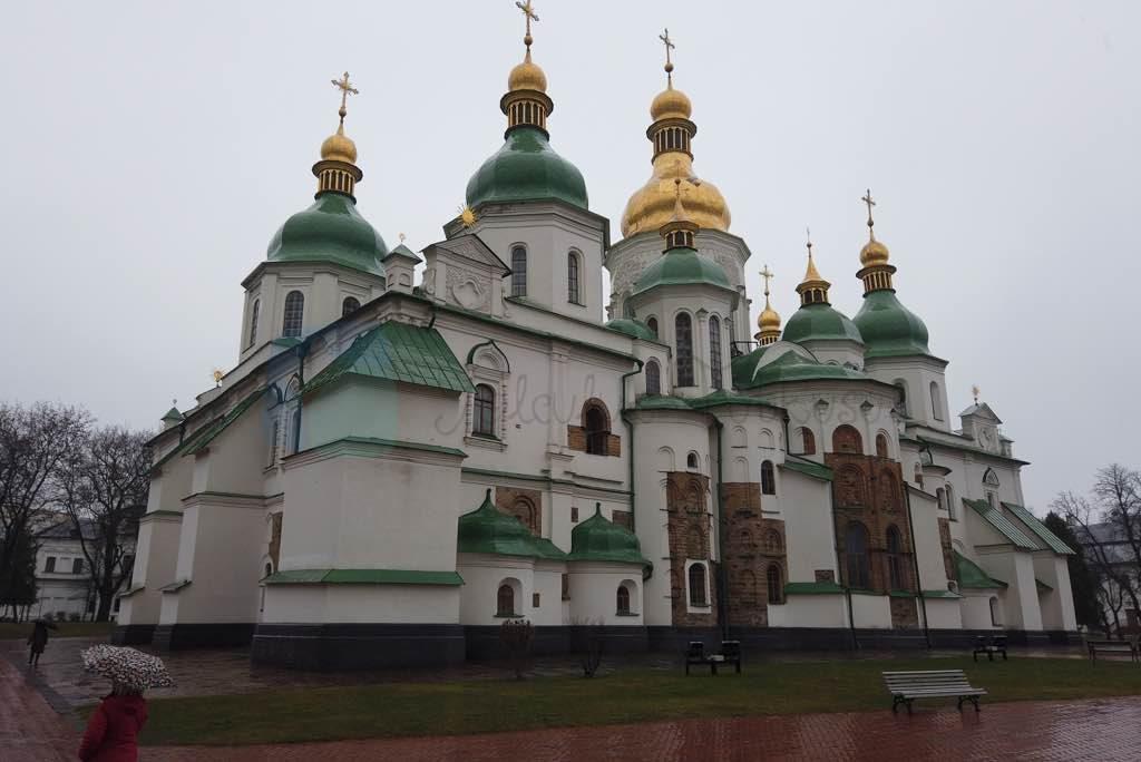 aziz sofya Katedrali Kiev için en önemli yapılardan