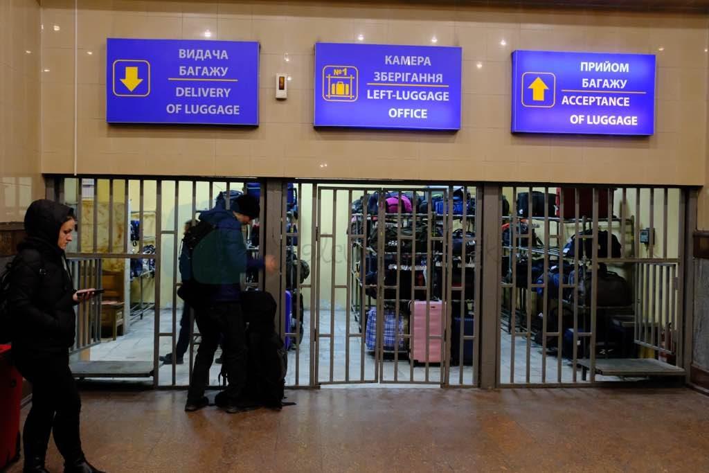 lviv bagaj saklama odası