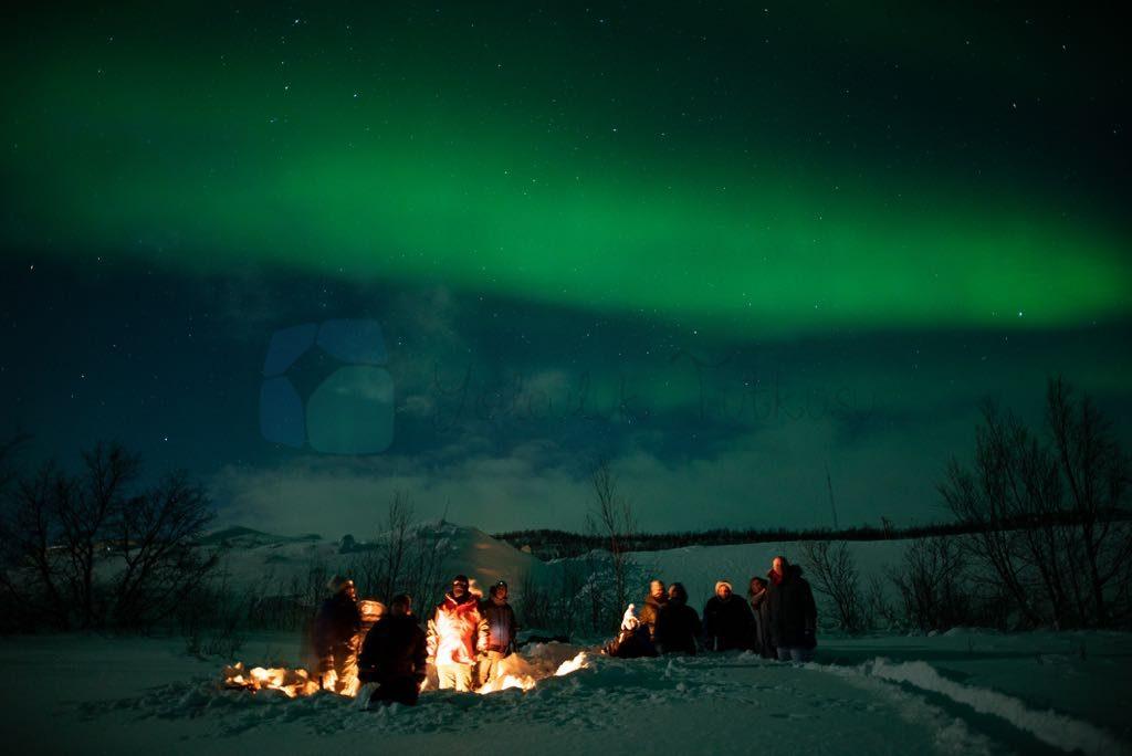 Kuzey Işıkları en önemli Lapland aktivitesi