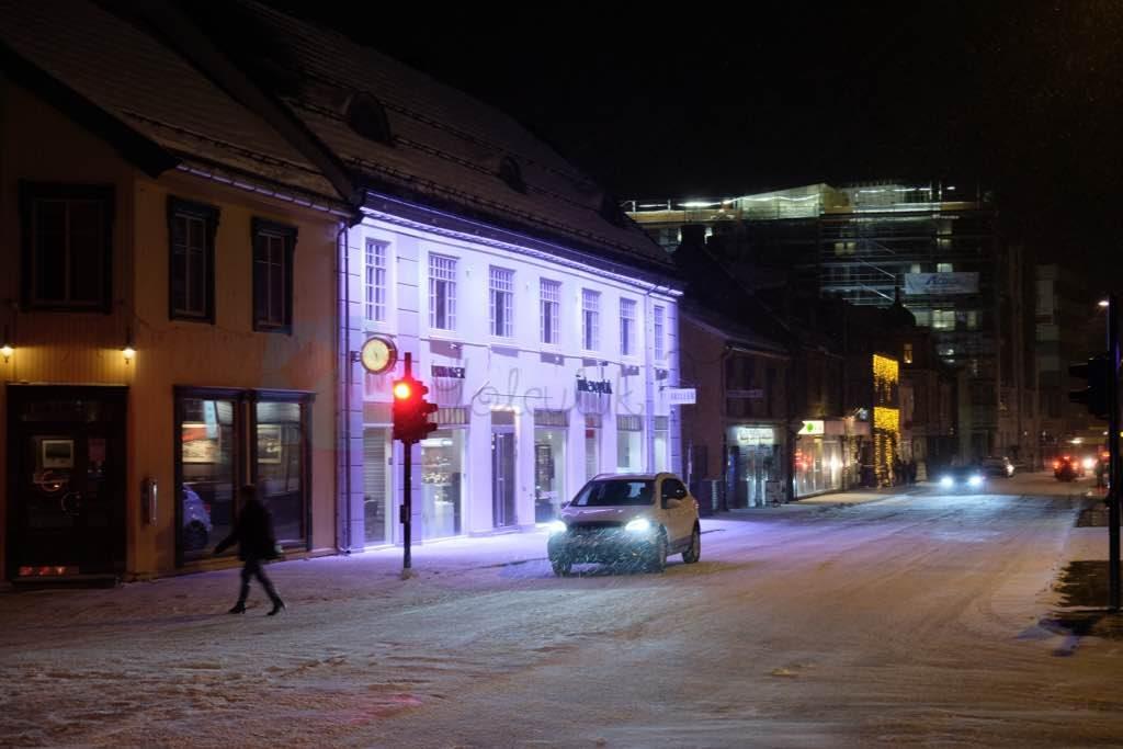 Tromso caddeleri Lapland